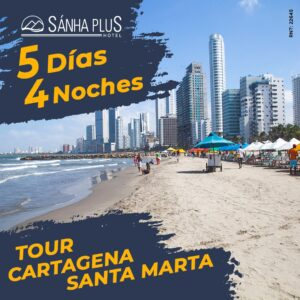 tour cartagena-santamarta 5 dias 4 noches